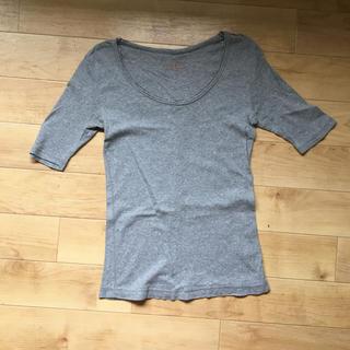 ローリーズファーム(LOWRYS FARM)のグレー トップス(Tシャツ(長袖/七分))