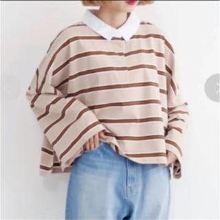 メルロー(merlot)のメルロー ラガーシャツ(シャツ/ブラウス(長袖/七分))