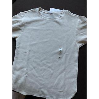 ユニクロ(UNIQLO)のユニクロ クルーネックTシャツ 七分袖(Tシャツ(長袖/七分))