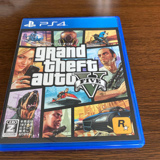 PlayStation4 - グランド・セフト・オートV PS4