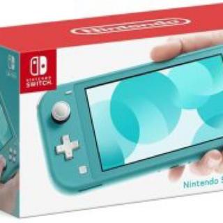 ニンテンドウ(任天堂)のNintendo Switch Lite ターコイズ(携帯用ゲーム機本体)