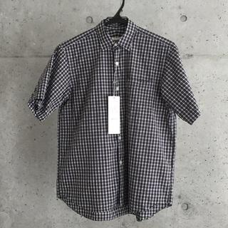 コモリ(COMOLI)の新品 2019ss COMOLI ショートスリーブシャツ TARTAN サイズ0(シャツ/ブラウス(半袖/袖なし))