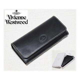 ヴィヴィアンウエストウッド(Vivienne Westwood)の新品【ヴィヴィアンウエストウッド】本革レザー チャンキー長財布 黒(長財布)