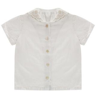 Caramel baby&child  - little cotton clothes セーラーブラウス 20SS 白