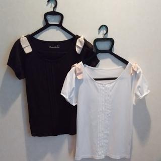 クチュールブローチ(Couture Brooch)のTシャツ White&Black 2枚セット(Tシャツ(半袖/袖なし))