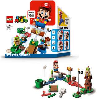 Lego - 【新品未開封】レゴ スーパーマリオ マリオとぼうけんのはじまり スターターセット