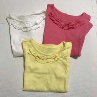 UNIQLO - UNIQLO 半袖Tシャツ 90  3枚セット