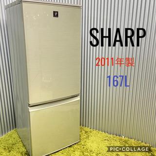 SHARP - SHARP シャープ♡2ドア冷蔵庫 2011年製