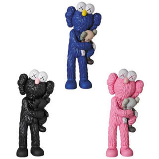 MEDICOM TOY - KAWS TAKE 3色セット PINK/BLACK/BLUE カウズ