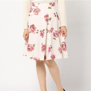 リランドチュール(Rirandture)のリランドチュール 💞 オータムフラワープリントスカート(ひざ丈スカート)
