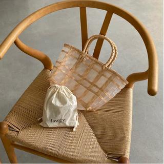 ディーホリック(dholic)のlawgy ami clear bag(かごバッグ/ストローバッグ)