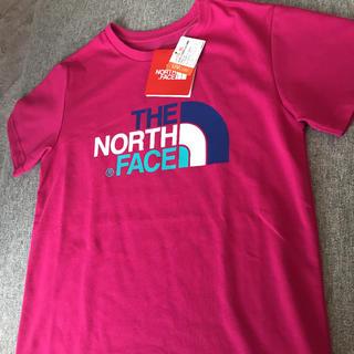 THE NORTH FACE - 新品 ノースフェイス ロゴ Tシャツ 140
