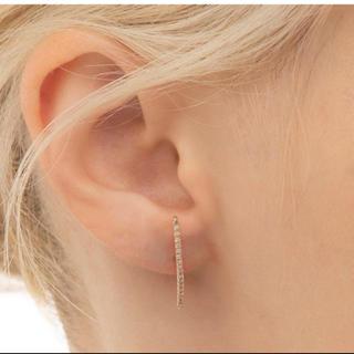 エストネーション(ESTNATION)の新品未使用  hirotaka   Long Bar Earrings(ピアス)