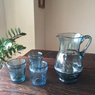 昭和レトロ  グラス&ピッチャー(グラス/カップ)