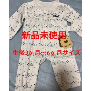 新品未使用 ロンパース  50〜60 新生児