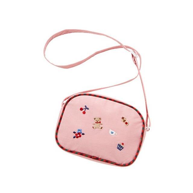familiar(ファミリア)の新品 ファミリア ポシェット ピンク バッグ キッズ/ベビー/マタニティのこども用バッグ(ポシェット)の商品写真