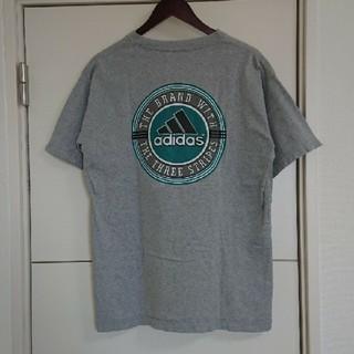 adidas - adidas アディダス Tシャツ 90s古着 ビッグロゴ