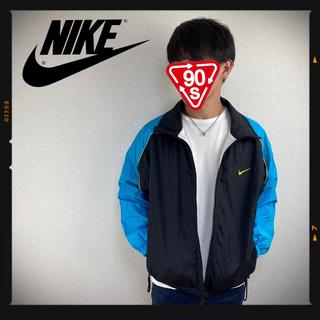 NIKE - ナイキ NIKE 90s ナイロンジャケット 菅田将輝 マルチ 古着 L