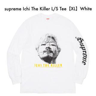 シュプリーム(Supreme)のsupreme Ichi The Killer L/S Tee【XL】White(Tシャツ/カットソー(七分/長袖))