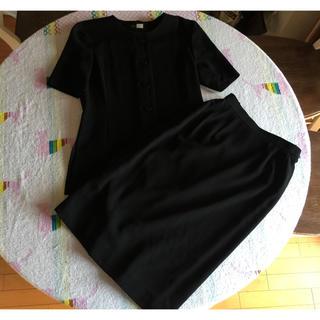 ソワール(SOIR)の東京ソワール ブラックフォーマル 喪服 礼服 9号 夏スーツ(礼服/喪服)