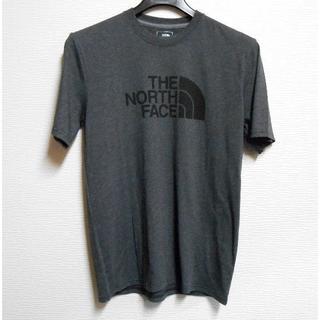 THE NORTH FACE - ノースフェイス*US:S/グレー/HalfDomeロゴプリント半袖T