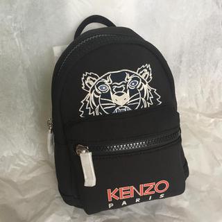 ケンゾー(KENZO)の【新品】KENZO ミニリュック バックパック Black タイガー(リュック/バックパック)
