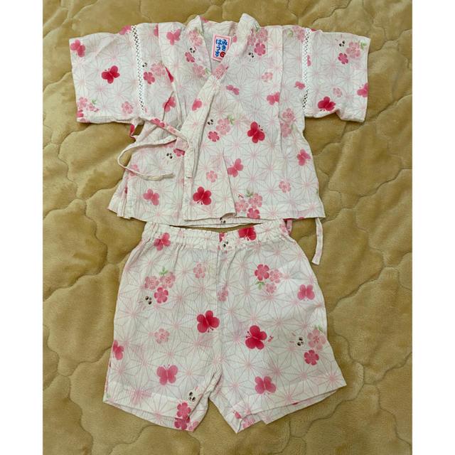 mikihouse(ミキハウス)のミキハウス甚平 キッズ/ベビー/マタニティのベビー服(~85cm)(甚平/浴衣)の商品写真