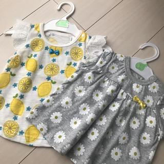 ニシマツヤ(西松屋)の新品未使用 2枚セット(Tシャツ)