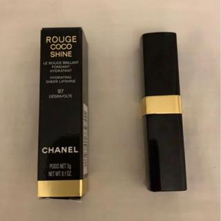 シャネル(CHANEL)のCHANEL ROUGE COCO SHINE 97   3g(口紅)