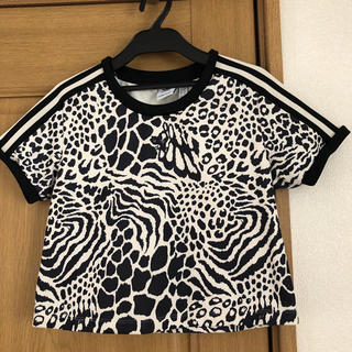 アディダス(adidas)のadidas  ゼブラ柄 Tシャツ(Tシャツ(半袖/袖なし))