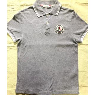 モンクレール(MONCLER)のMONCLER レディースポロシャツ M デカワッペン 美品(ポロシャツ)