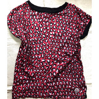 モンクレール(MONCLER)のMONCLER レディースシルクカットソー(Tシャツ(半袖/袖なし))