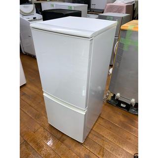 シャープ(SHARP)の(洗浄・検査済)SHARP:冷蔵庫 137L 2012年製(冷蔵庫)