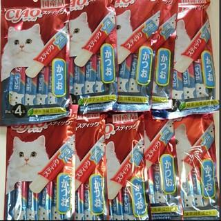 イナバペットフード(いなばペットフード)の国産品 猫のおやつ チャオスティック40本(ペットフード)