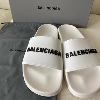 バレンシアガ(Balenciaga)の正規品 バレンシアガ POOL MEN サンダル 41(サンダル)
