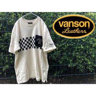 バンソン(VANSON)のVANSON バンソン ポケット付き tシャツ  ポケt  バイカー 刺(Tシャツ/カットソー(半袖/袖なし))