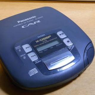 パナソニック(Panasonic)のポータブルCDプレイヤー(Panasonic SL-S600C)(ポータブルプレーヤー)