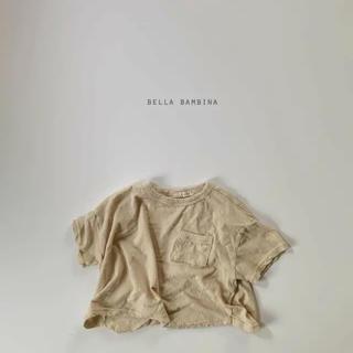 ザラキッズ(ZARA KIDS)の新品 韓国子供服 bella  bellabambina  Tシャツ 90(Tシャツ/カットソー)