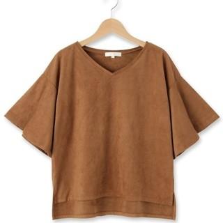 グローブ(grove)のフレアスリーブ 新品未使用タグつき(Tシャツ/カットソー(半袖/袖なし))