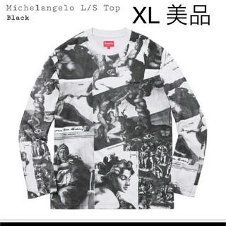 シュプリーム(Supreme)のsupreme ミケランジェロ L/S top XL 美品(Tシャツ/カットソー(七分/長袖))