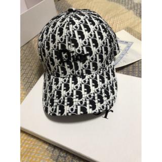 ディオール(Dior)の★美品★ディオールのサンバイザー帽子(キャップ)