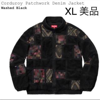 シュプリーム(Supreme)のsupreme corduroy patchwork denim XL 美品(Gジャン/デニムジャケット)