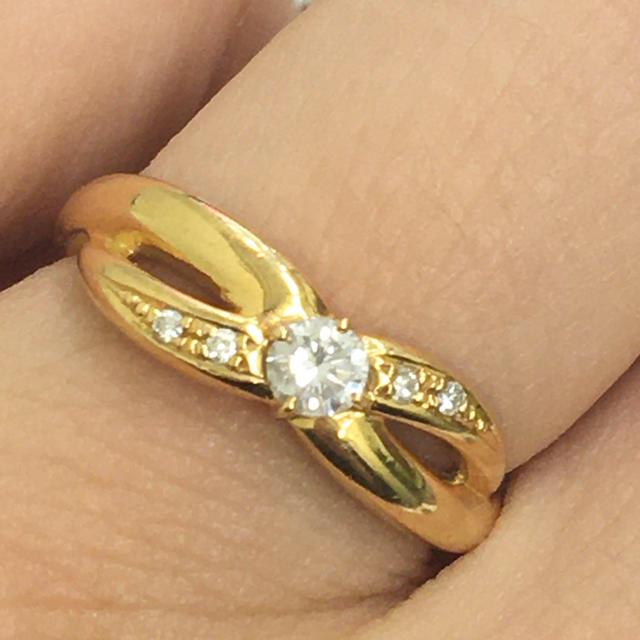 Vendome Aoyama(ヴァンドームアオヤマ)の♡VENDOME AOYAMA ♡K18リング ♡リング♡ レディースのアクセサリー(リング(指輪))の商品写真