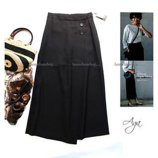 SCOT CLUB - 定価15,000円【新品】日本製・スコットクラブ★Wゴム美スタイルスカートパンツ