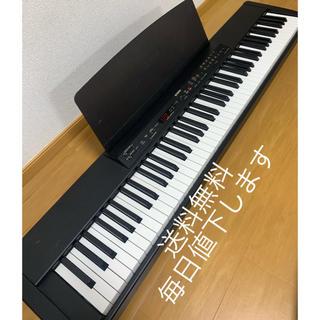 ヤマハ(ヤマハ)のYAMAHA ヤマハ 電子ピアノ P-80 88鍵盤 ブラック キーボード(電子ピアノ)