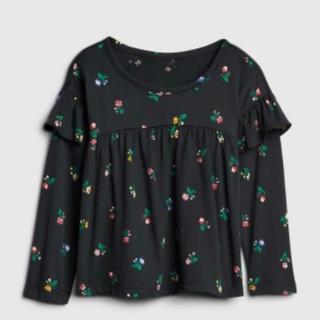 ベビーギャップ(babyGAP)のタグ付き未使用品 baby gap ラッフルトップス サイズ95(Tシャツ/カットソー)