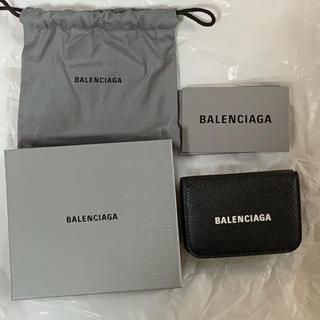 バレンシアガ(Balenciaga)のBALENCIAGA バレンシアガ  折り財布 ミニ財布 ブラック(折り財布)