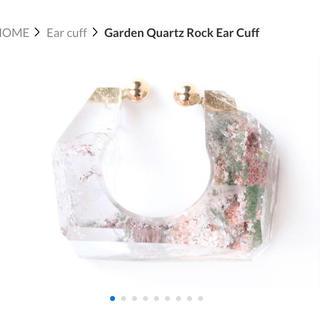 アッシュペーフランス(H.P.FRANCE)のmonaka jewellery ガーデンクォーツ Rock Ear Cuff(イヤーカフ)