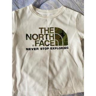ザノースフェイス(THE NORTH FACE)の中古ノースフェイスロゴTシャツ キッズ100cm(Tシャツ/カットソー)