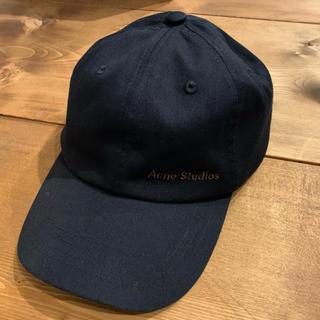 ACNE - 即購入◯ アクネ Acne キャップ 帽子 ブラック